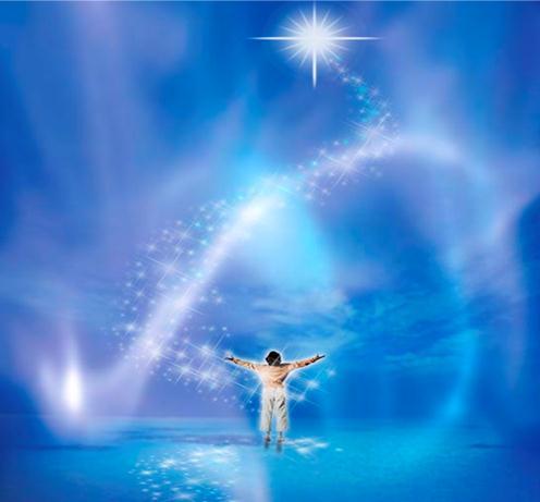 Resultado de imagem para imagens com mensagem de seres de luz